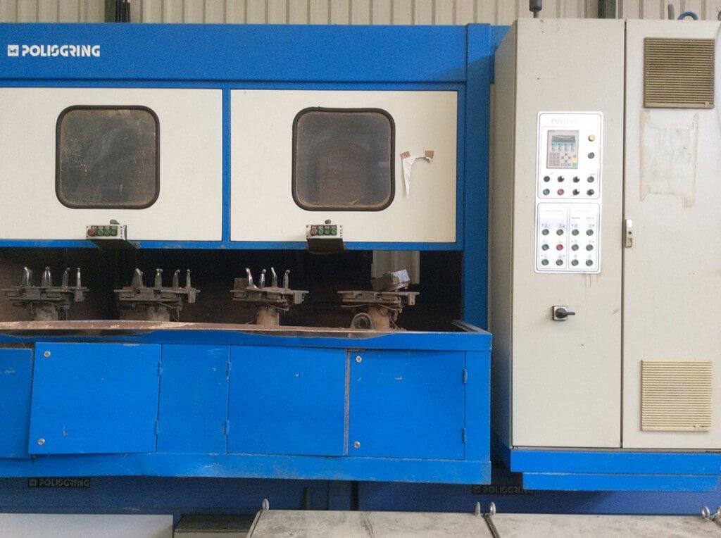 Máquina de Polir Automática com 4 Porta-Peças Polisgring MSA-4-HEAVY DUTY